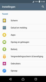 Sony Xperia XA Ultra (F3211) - voicemail - handmatig instellen - stap 4