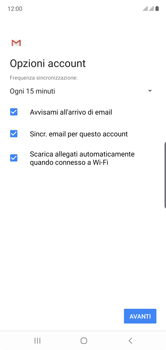 Samsung Galaxy Note 10 - E-mail - 032b. Email wizard - Yahoo - Fase 10