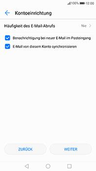 Huawei P10 Plus - E-Mail - Manuelle Konfiguration - Schritt 21