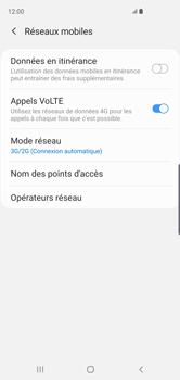 Samsung Galaxy S10 - Réseau - Comment activer une connexion au réseau 4G - Étape 6