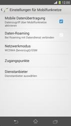 Sony Xperia Z1 Compact - Netzwerk - Netzwerkeinstellungen ändern - Schritt 6