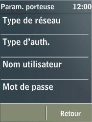 Nokia X3-02 - Internet - configuration manuelle - Étape 13