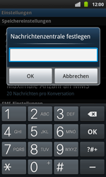 Samsung I9001 Galaxy S Plus - SMS - Manuelle Konfiguration - Schritt 5