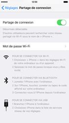 Apple iPhone 6s - Internet et connexion - Partager votre connexion en Wi-Fi - Étape 6