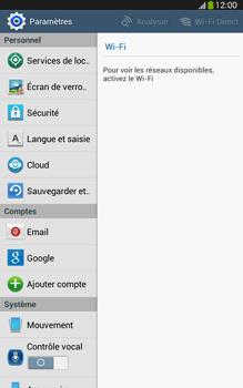 Samsung Galaxy Tab 3 8 4G - Sécuriser votre mobile - Activer le code de verrouillage - Étape 4
