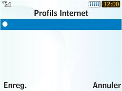 Samsung S3350 Chat 335 - Internet - Configuration manuelle - Étape 15