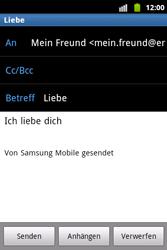 Samsung Galaxy Xcover - E-Mail - E-Mail versenden - 9 / 14
