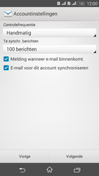 Sony E2003 Xperia E4G - e-mail - handmatig instellen - stap 17