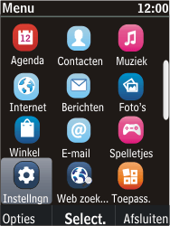Nokia C2-05 - MMS - Handmatig instellen - Stap 3