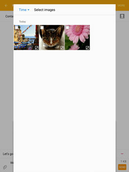 Samsung T815 Galaxy Tab S2 9.7 - MMS - Sending pictures - Step 19