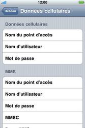 Apple iPhone 3G - Internet - configuration manuelle - Étape 7