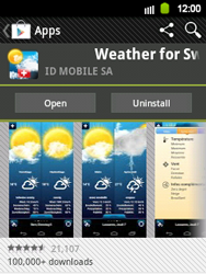 Samsung Galaxy Y - Applications - Installing applications - Step 15