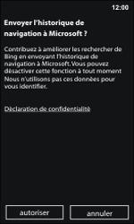 Nokia Lumia 800 / Lumia 900 - Internet et roaming de données - Navigation sur Internet - Étape 4