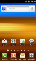 Samsung I9100 Galaxy S II - MMS - automatisch instellen - Stap 1