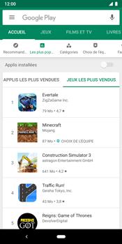 Google Pixel 3 - Applications - Télécharger une application - Étape 12