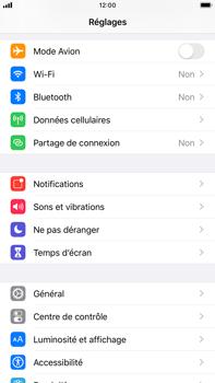 Apple iPhone 8 Plus - iOS 13 - Sécurité - modifier SIM PIN - Étape 3