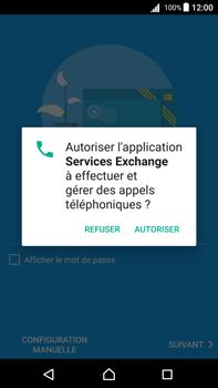 Sony Xperia Z5 Premium (E6853) - Android Nougat - E-mail - Configuration manuelle (outlook) - Étape 10