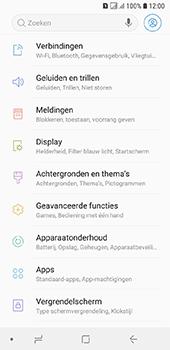 Samsung Galaxy A6 - Beveiliging - stel in of wijzig pincode voor je toestel - Stap 4