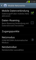 Samsung Galaxy S III Mini - Netzwerk - Manuelle Netzwerkwahl - Schritt 11