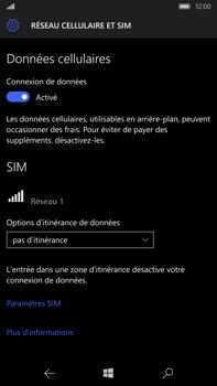 Microsoft Lumia 950 XL - Réseau - utilisation à l'étranger - Étape 9