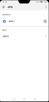 Huawei P20 Pro - Android Pie - MMS - Configurazione manuale - Fase 14