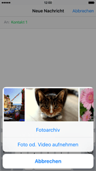 Apple iPhone 6s - MMS - Erstellen und senden - Schritt 11