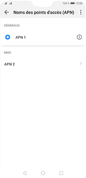 Huawei P20 Pro - Android Pie - MMS - Configuration manuelle - Étape 15