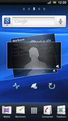 Sony Xperia Ray - E-mail - E-mails verzenden - Stap 1