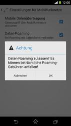 Sony Xperia M2 - Ausland - Im Ausland surfen – Datenroaming - 9 / 12