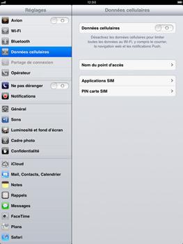 Apple iPad mini - Internet - activer ou désactiver - Étape 5