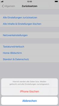 Apple iPhone 8 Plus - iOS 14 - Gerät - Zurücksetzen auf die Werkseinstellungen - Schritt 6