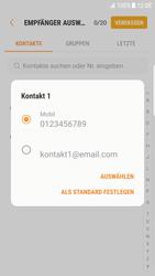 Samsung Galaxy S6 Edge - MMS - Erstellen und senden - 1 / 1