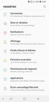 Samsung Galaxy A8 - Internet et connexion - Accéder au réseau Wi-Fi - Étape 4