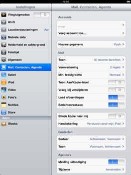 Apple iPad 2 - E-mail - handmatig instellen - Stap 9