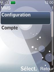Nokia 7210 supernova - MMS - Configuration automatique - Étape 11