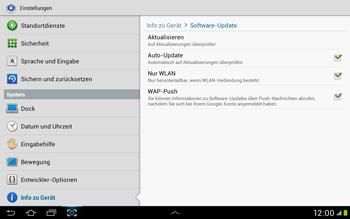Samsung Galaxy Tab 2 10.1 - Software - Installieren von Software-Updates - Schritt 9