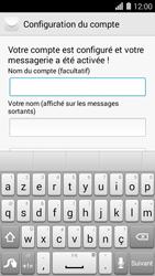 Huawei Ascend Y550 - E-mail - Configuration manuelle - Étape 20