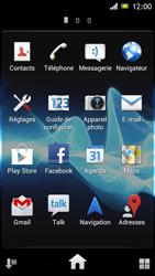 Sony ST26i Xperia J - Internet - navigation sur Internet - Étape 2