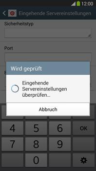 Samsung Galaxy Note III LTE - E-Mail - Manuelle Konfiguration - Schritt 11