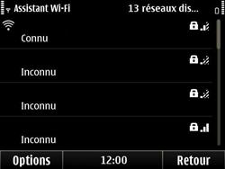 Nokia E6-00 - Wifi - configuration manuelle - Étape 14