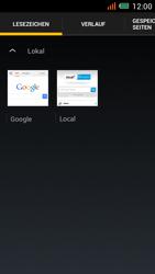 Alcatel One Touch Idol Mini - Internet und Datenroaming - Verwenden des Internets - Schritt 18