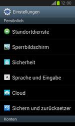 Samsung Galaxy S2 Plus - Fehlerbehebung - Handy zurücksetzen - 6 / 10