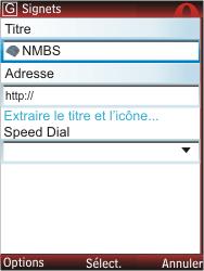 Nokia C2-01 - Internet - navigation sur Internet - Étape 11