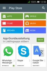 Alcatel OT-4009D Pixi 3 (3.5) - Apps - Konto anlegen und einrichten - Schritt 20
