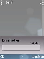 Nokia E75 - e-mail - handmatig instellen - stap 6