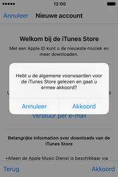 Apple iPhone 4S (iOS 9) - apps - account instellen - stap 11