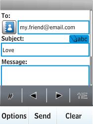 Nokia X3-02 - E-mail - Sending emails - Step 9