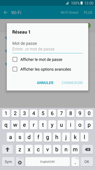 Samsung Galaxy S6 edge+ (G928F) - WiFi - Configuration du WiFi - Étape 7
