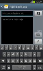 Samsung i8260 Galaxy Core - Mensajería - Escribir y enviar un mensaje multimedia - Paso 5