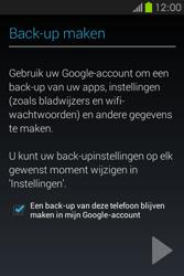 Samsung S6810P Galaxy Fame - apps - account instellen - stap 25